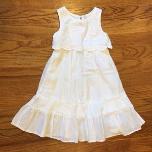 Beautiful White Sun Dress Sz 12m